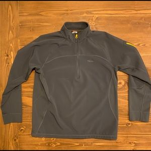 Men's North Face Fall / Spring  1/4 Zip Jacket